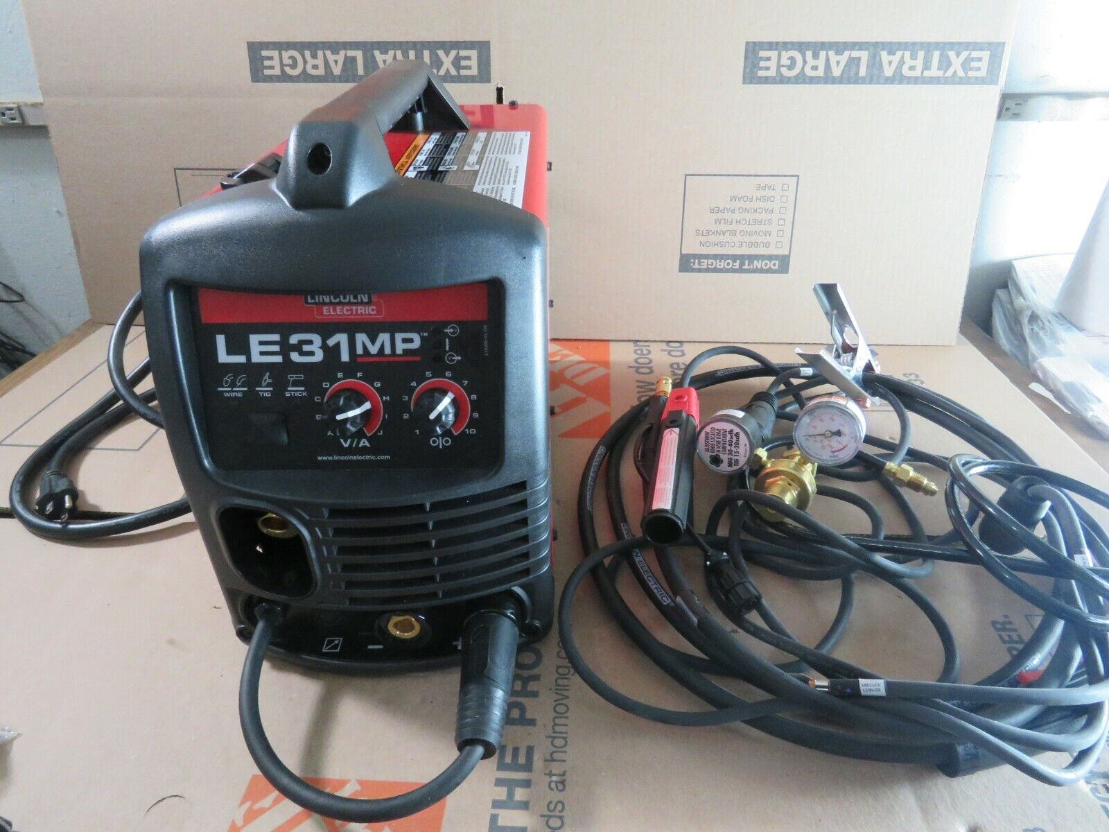 Lincoln Electric LE31MP MIG Welder with Multi Processes 120V. Available Now for 599.99