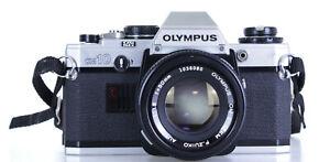 Olympus OM 10 Lens Olympus Zuiko 50mm F 1.8   (Réf#C-274)