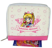 Sailor Moon Usagi Zip Coin Purse Wallet Anime W/ Tag Officially Licensed