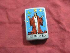 "719| Zippo Sturmfeuerzeug Tarot Karte  "" the Magician  """