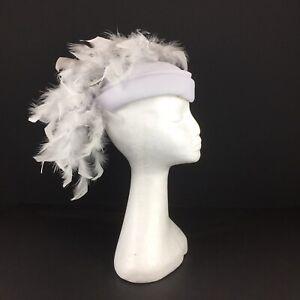 Stunning Light Grey /Silver Grey Pill Box Hat   (52)