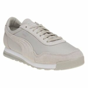 1e7b48b3c45 Image is loading New-Mens-Puma-Grey-Jogger-Suede-Trainers-Retro-