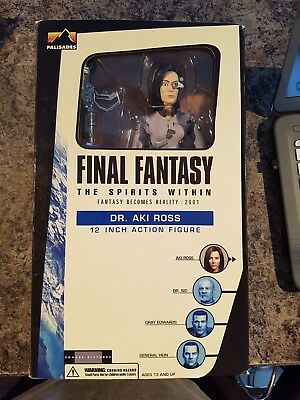 Final Fantasy The Spirits Within Dr Aki Ross 12 Action
