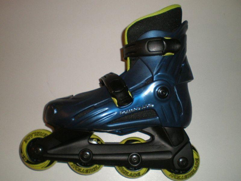Rollerblade Kinder Inlineskater Z 9 blau Gr. 30