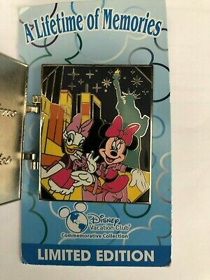 Disney Vacation Club DVC Lifetime of Memories 2013 Daisy Minnie LE Trading Pin