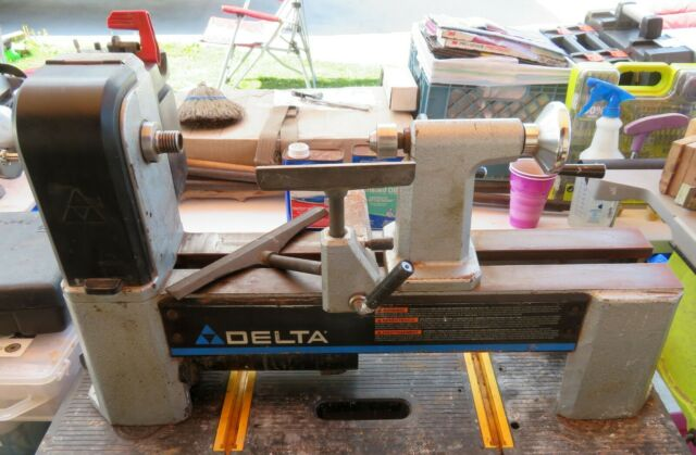 Delta 46-250 Midi Lathe With 46-855 Bed Extension for sale ...