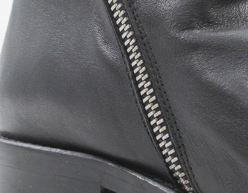 Zapatos REBECCA VAN DIK Femme negro Cuir Cuir Cuir naturel KAROL06VIT-NE f42171