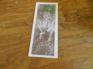 Arizona-Trapping-Regulations-1988-Vintage-Pamphlet-Free-Domestic-Shipping