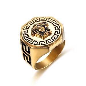 18k-Gold-Plated-Titanium-Greek-Mythology-Medusa-Vintage-Style-Hiphop-Ring-M36