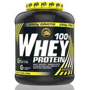 (18,68 EUR/kg) All Stars 100% Whey Protein 2350g div. Geschmacksrichtungen NEU