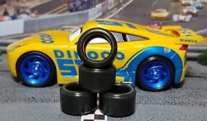 PAUL-GAGE-SLOT-CAR-TIRES-2pr-PGT-19125LM-fit-Carrera-034-CARS-3-034-Cruz-Ramirez