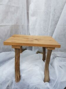 Image Is Loading Small Oak Coffee Table Handmade Wooden