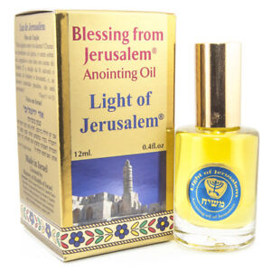 Details about Aromatic Anointing Oil Light of Jerusalem Biblical Spices  EinGedi 0 4fl oz/12ml