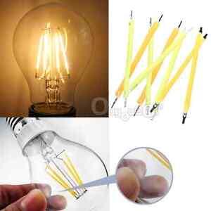 4-10x-1W-DC50-60V-17mA-COB-LED-Filament-Light-Bulb-Globe-Candle-Light-Source-DIY