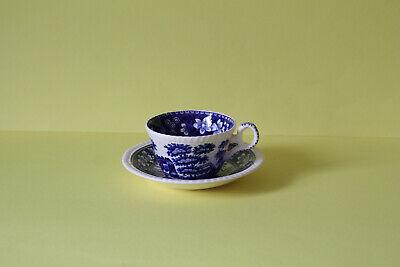 Untertasse Keramik Blue Tower Spode Tasse 1#S