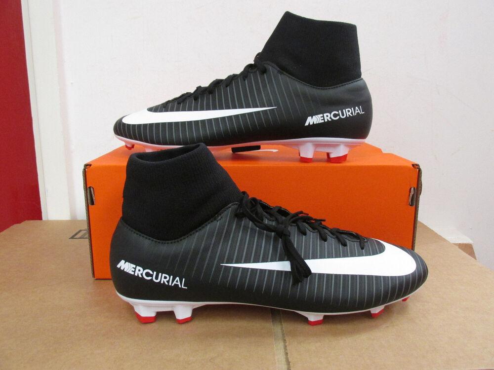 Nike Mercurial Victory VI DF FG Homme Chaussures De Football 903609 002 Soccer Jeu-