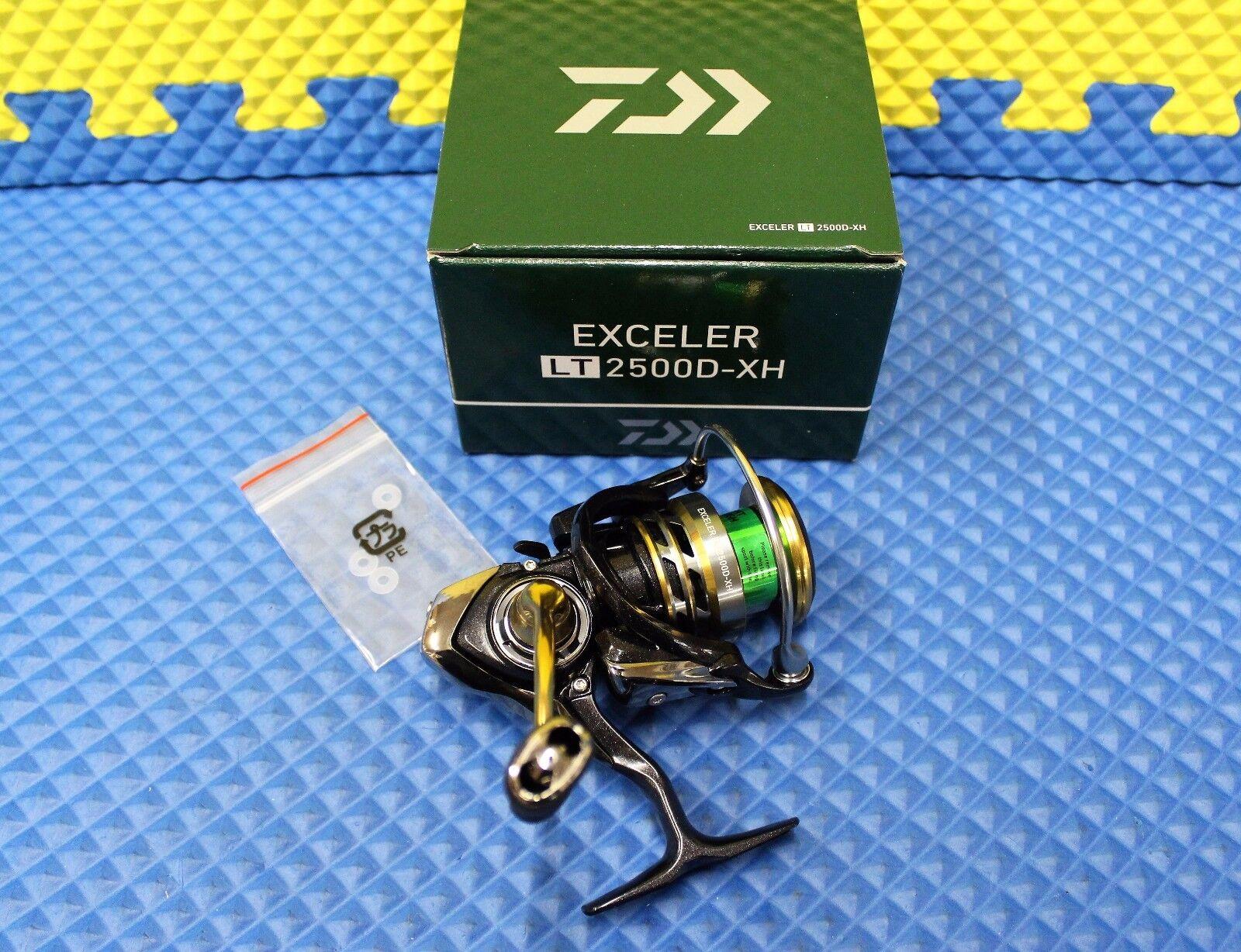 Daiwa Exceler Spinning Reel EXLT2500D-XH