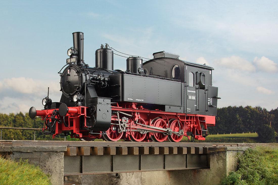 KISS traccia 0 locomotiva BR 98.884 DRG 400061 NUOVO CONFEZIONE ORIGINALE Lenz