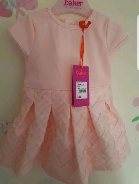 c8b4d6db70b00d Ted Baker Baby Girls Dress Pink DESIGNER 9-12 Months for sale online ...