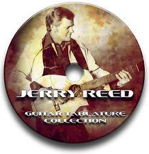 Jerry Reed país Guitar Tabs Tablaturas canción Libro Cd De Software