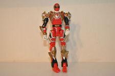 "Power Rangers rare Ninja Storm Tri-Battlized red ranger figure 2002 bandai 6"" 02"