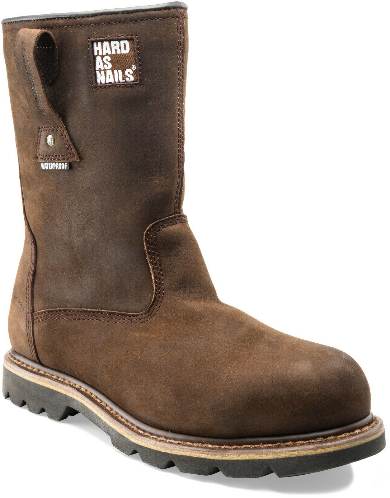 Buckler B601SMWP Boots Waterproof Safety Rigger Work Boots B601SMWP Brown Leather (Sizes 6-13) 438836
