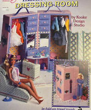 Fashion Doll Finery ~ fits Barbie dolls Annie/'s plastic canvas pattern leaflet
