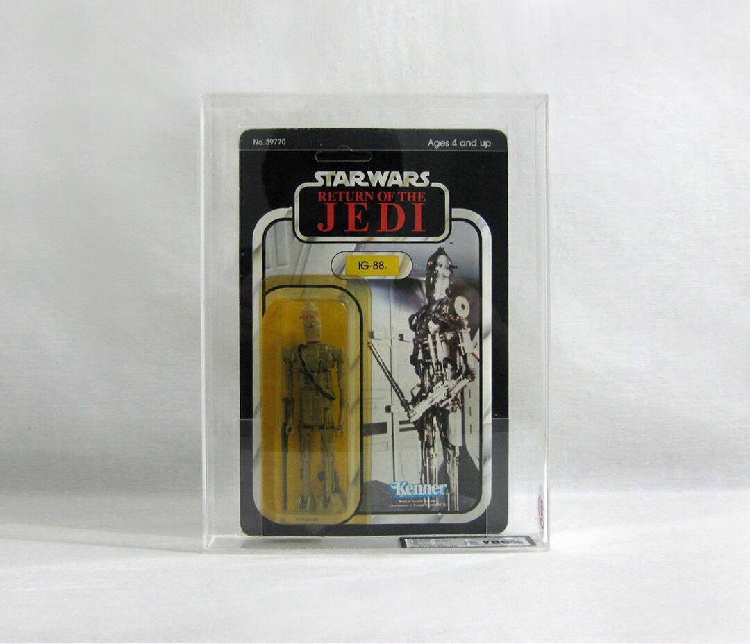 NEW 1983 Vintage Star Wars ✧ IG-88 ✧ Kenner redJ 77 BK UKG 85 85 90 AFA V69