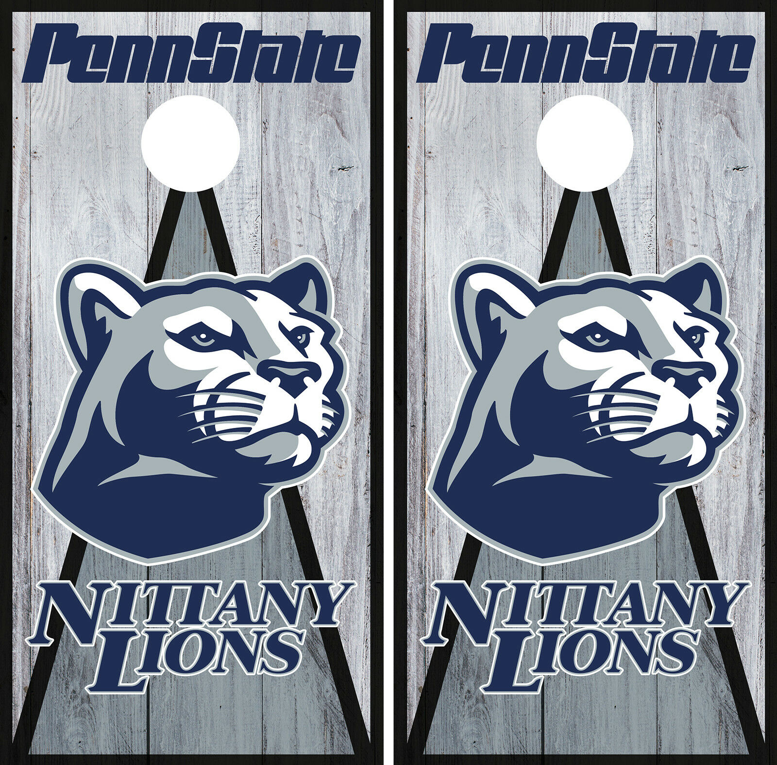 Penn State Nittany Lions Cornhole Wrap NCAA Game Skin Set Vinyl Decal Logo CO854