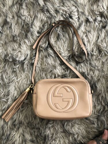 Gucci Soho Leather Disco Bag!