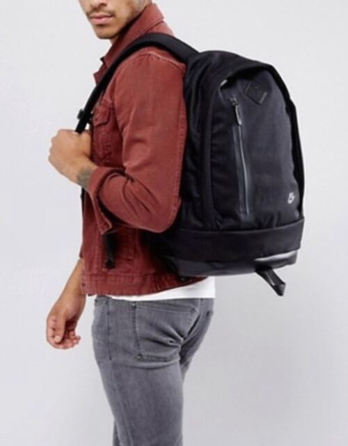 Nike Cheyenne 3.0 Premium Black Men Backpack Bag Ba5265-014 for sale ... a97bd9e2d2116