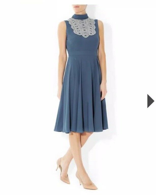 40a1f6fd89f bluee Isla dress - UK size 10