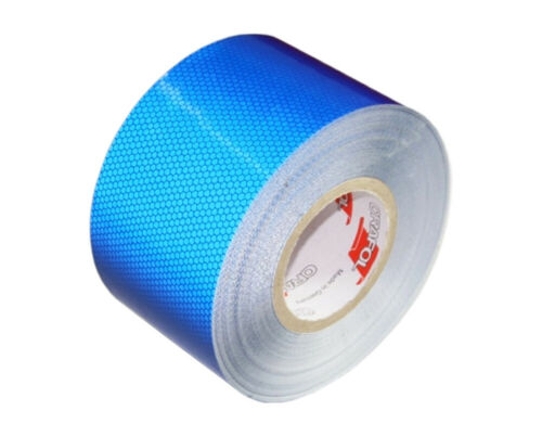 3m x 100mm Orafol Reflexband Reflexfolie Reflektorfolie RA2 blau