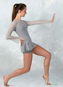 Push Dance Costume Camisole Boy Shorts Unitard Tunic Adult XX-Large 2XL New