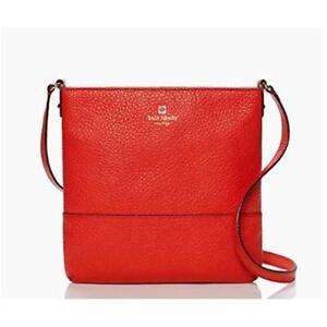 Kate Spade Bag WKRU1769 Southport Avenue Cora Empire Red (642) Jeptall #BagsFeve