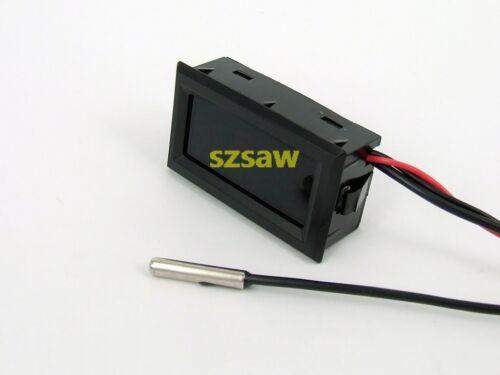 58 ~ 230 F 50 ~ 110 ℃ Power 4-25 V Celsius environ 127.76 °C Thermomètre température mètre