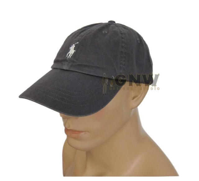 Polo Ralph Lauren Cap Mens Navy Baseball Classic Sports 100 % Genuine New b885a7a6a341