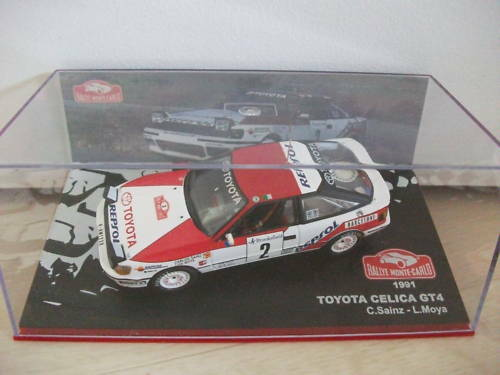 toyota celica GT4 1991 1//43 rallye monte Carlo IXO