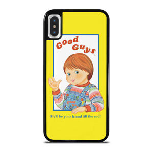 check out 8e341 6b460 Details about CHILD'S PLAY GOOD GUYS CHUCKY iPhone 6/6S 7 8 Plus X/XS Max  XR Case Cover