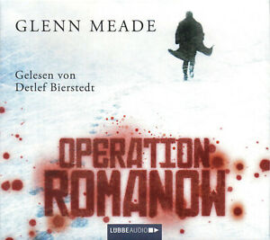 Operation-Romanow-Glenn-Meade-Hoerbuch-6-CD-039-s-NEU-OVP