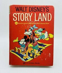 Walt Disney's Story Land 55 Favorite Stories 1962 Golden Press Bambi Snow White