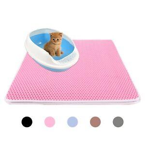 Waterproof-Double-Layer-Cat-Litter-Pet-Rug-Home-Mat-Pet-Cat-Foldable-Pad