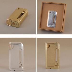 Vintage-Windproof-Lighter-Refillable-Cigarette-Starter-Automatic-Metal-Men-NEW