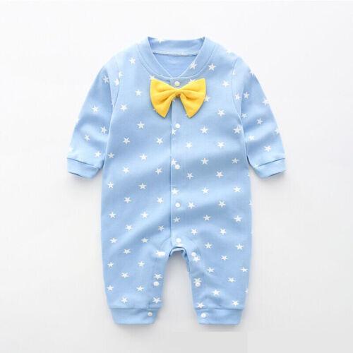 2020 Baby Kids Boy Girl Infant Romper Jumpsuit Bodysuit Cotton Clothes Outfit