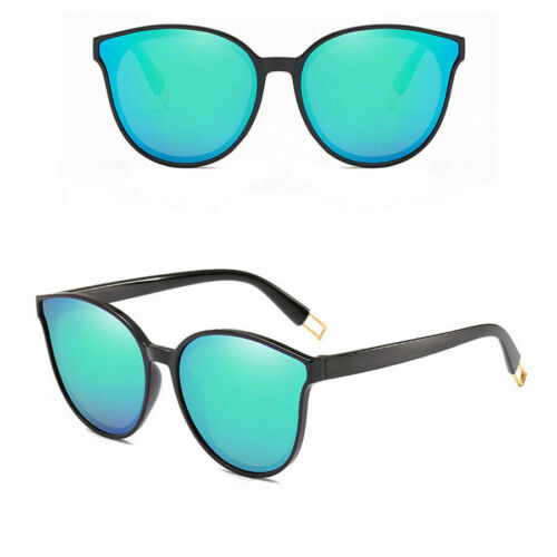 2019 Femmes Cat Eye Lunettes UV400 Carré Miroir style Lunettes de soleil oversize