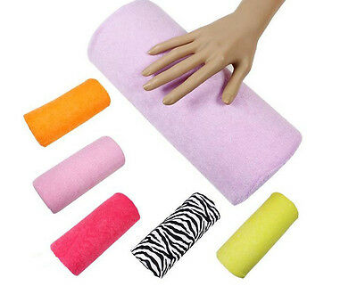 Half Column Hand Rest Care Cushion Pillow Nail Art Design Salon Manicure Soft