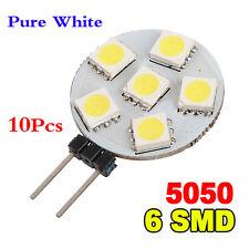 ET 10x G4 5050 SMD 6 LED-Licht reinweiss Automarinebirnen
