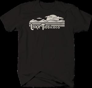 Lake Titticaca Titty Funny Camping T-Shirt