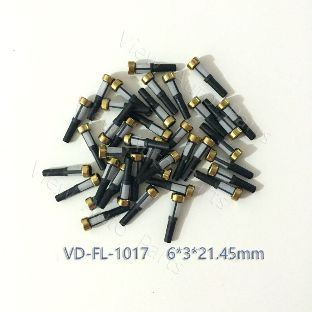 50 Pcs Fuel Injector Nozzle Micro Basket Filter for Injector Repair Kit