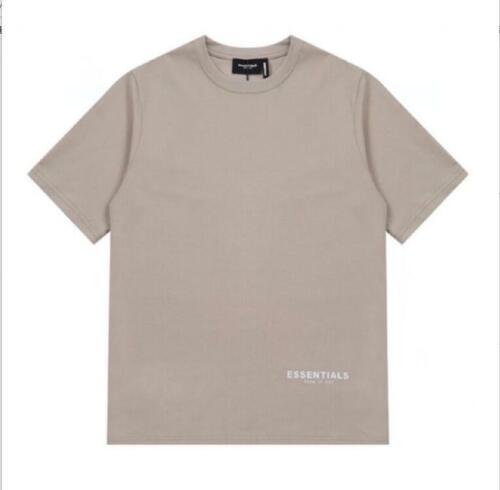 MEN Fear of God Fog compound line ESSENTIALS 3M reflective Short sleeved T-shirt